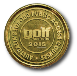 Golf Australia Top 100 Coin