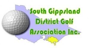 South Gippsland District Golf Association Logo
