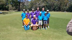 The winning Wonthaggi U21 Pennant Team with Beau Van Agtmaal holding the shield and their opponents, and last years Trophy winners, Lang Lang Golf Club U21.  The final of the South Gippsland District 2016 Junior Pennant season was held on Sunday 21 Feb 2016 at the beautiful Leongatha Golf Course.