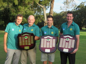 2016 Pennant captains and their Pennant shields