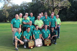 Vicrotious Leongahta Pennant Players after 2016 Pennant Wins in Divisions 2, 3 and 4.
